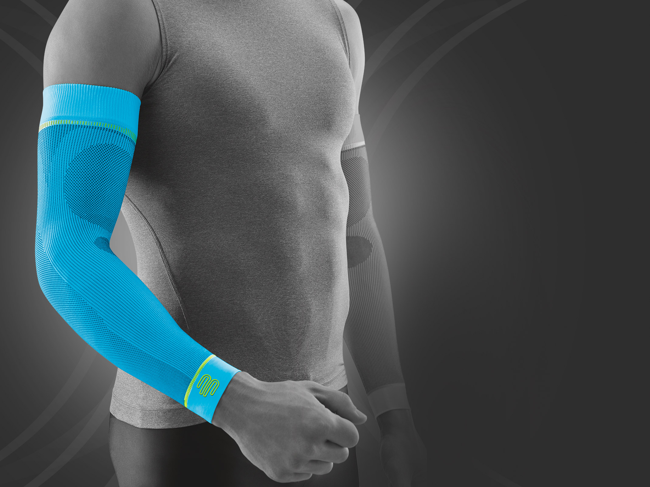 sports compression sleeves arm bauerfeind sports