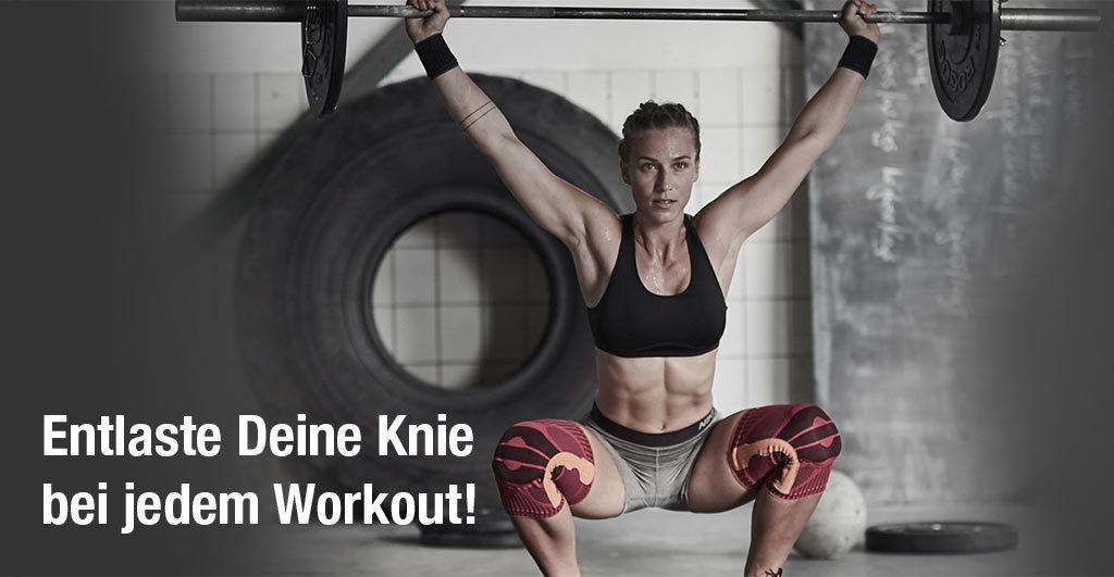 Entlaste Deine Knie bei jedem Workout